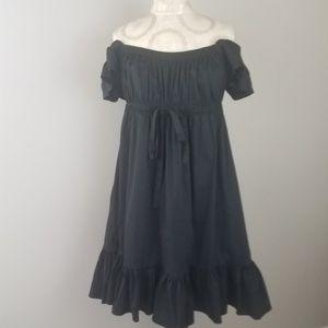 BUY 1 GET 1 FREE London Times Black Empire Dress